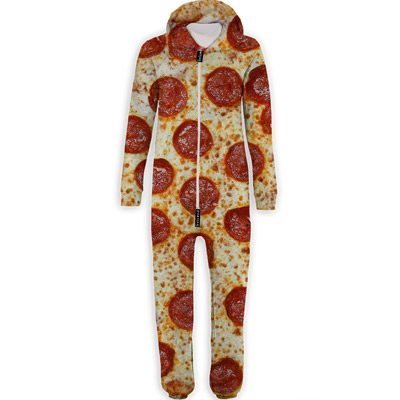 pizza onesie jumpsuit