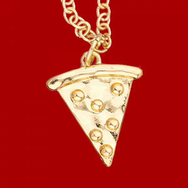 pizza necklace pendant necklace