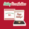 Holiday Pizza necklace box